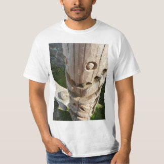 Laughing Totem Face T-Shirt