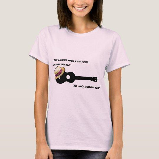 Laughing Ukulele T-Shirt