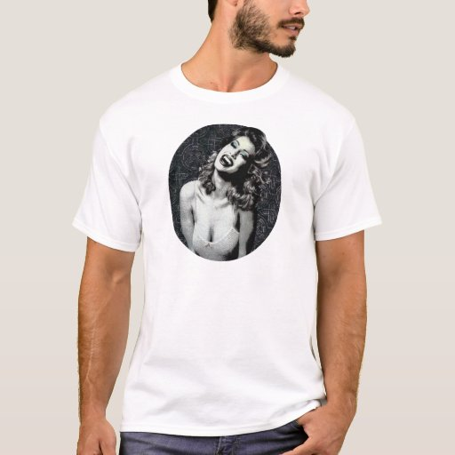 laughing vampire woman original art T-Shirt