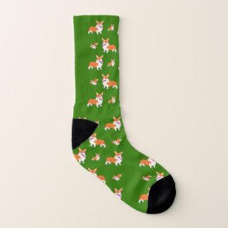 Laughing Welsh Corgi Socks