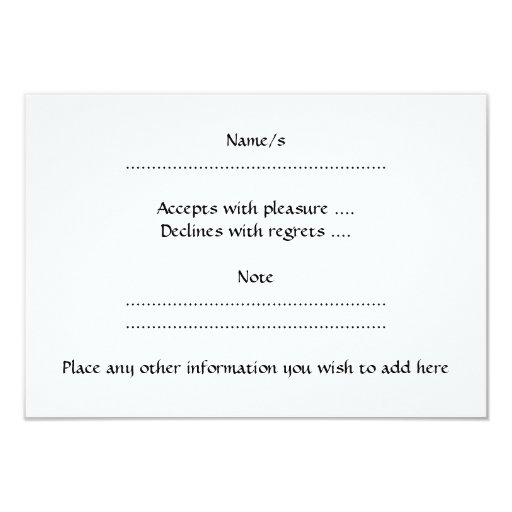 Laughing White Elephant. 3.5x5 Paper Invitation Card