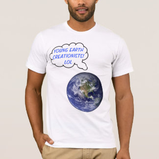 Laughing Young Earth T-Shirt