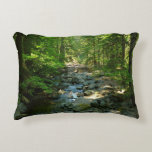 Laughingwater Creek at Mount Rainier National Park Decorative Pillow
