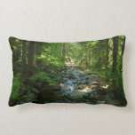 Laughingwater Creek at Mount Rainier National Park Lumbar Pillow