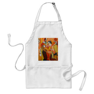 Laughter - Clown Painting Adult Apron
