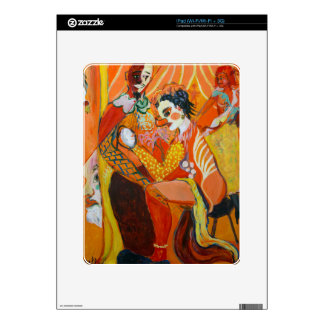 Laughter - Clown Painting Decal For The iPad