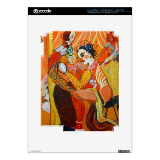 Laughter - Clown Painting iPad 3 Skins