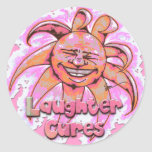 Laughter Cures Stickers