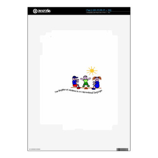 Laughter Decals For The iPad 2
