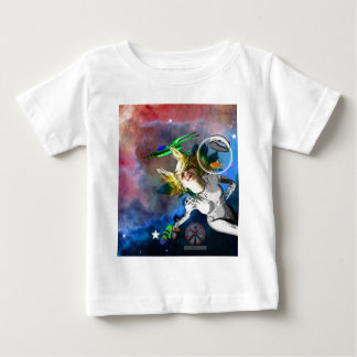 Laughter in space baby T-Shirt
