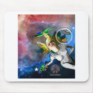 Laughter in space mouse pad
