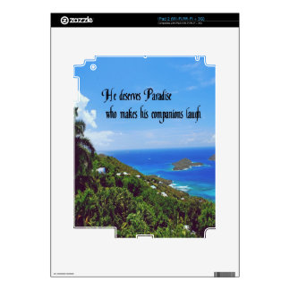Laughter is the best medicine decals for the iPad 2