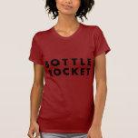 Launch A Bottle Rocket (Black) T Shirt