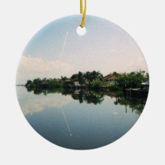 Launch Mirror Commemorative Ornament