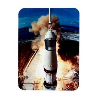 Launch of a Rocket 2 Vinyl Magnets