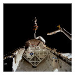 Launch of LAGEOS II from Shuttle Columbia (STS-52) Print