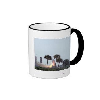 Launch of Mercury Atlas 9 rocket  Photograph Ringer Coffee Mug