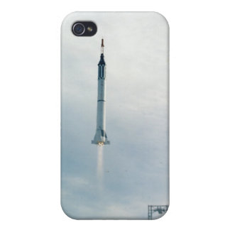 launch of Mercury-Redstone 4 with Virgil L. Grisso iPhone 4/4S Case