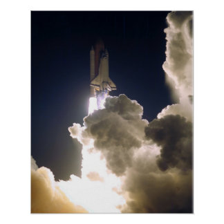 Launch of Space Shuttle Atlantis STS-86 Posters