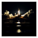 Launch of Space Shuttle Atlantis (STS-86) Print