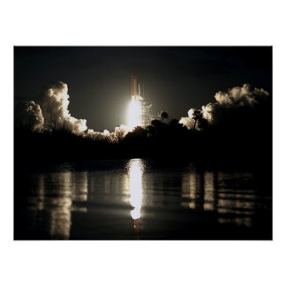 Launch of Space Shuttle Columbia (STS-61C) Posters