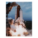 Launch of Space Shuttle Columbia (STS-75) Posters