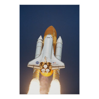 Launch of Space Shuttle Discovery (STS-114) Poster