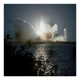 Launch of Space Shuttle Endeavour (STS-108) Posters