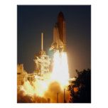 Launch of Space Shuttle Endeavour (STS-108) Print