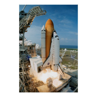 Launch of Space Shuttle Endeavour STS-111 Posters