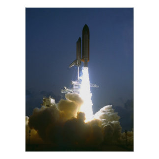 Launch of Space Shuttle Endeavour (STS-49) Print