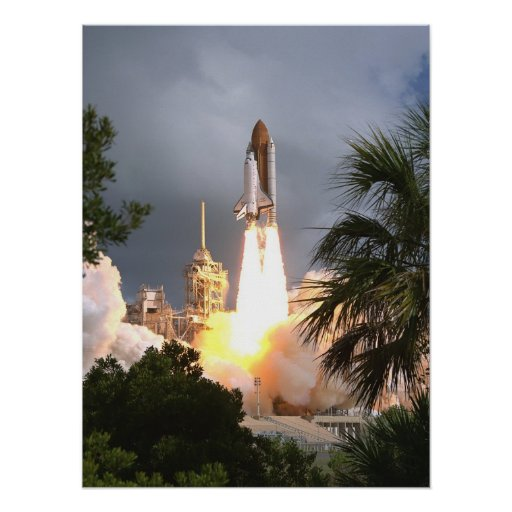 Launch of Space Shuttle Endeavour (STS-57) Posters