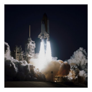 Launch of Space Shuttle Endeavour (STS-68) Print