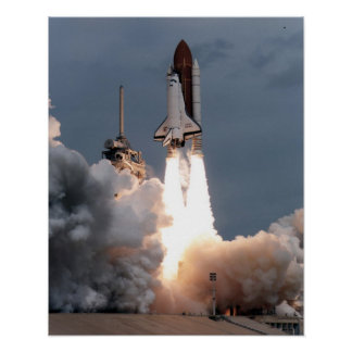 Launch of Space Shuttle Endeavour (STS-69) Posters