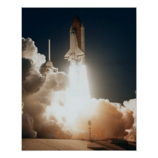 Launch of Space Shuttle Endeavour (STS-77) Posters