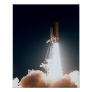 Launch of Space Shuttle Endeavour (STS-77) Print