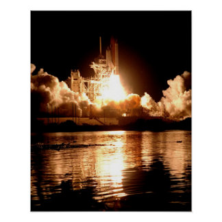 Launch of Space Shuttle Endeavour (STS-88) Print