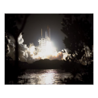 Launch of Space Shuttle Endeavour (STS-89) Print