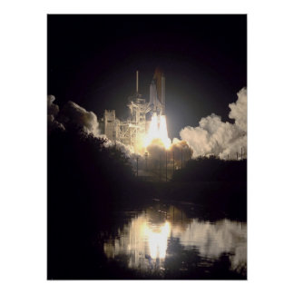 Launch of Space Shuttle Endeavour (STS-97) Print