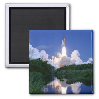 Launch of Space Shuttle Magnet