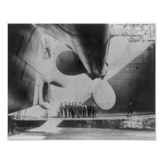 Launch of the Titanic Poster