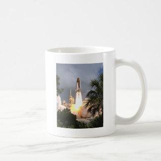 launch with palms coffee mug
