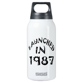 Launched In 1987 10 Oz Insulated SIGG Thermos Water Bottle
