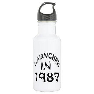 Launched In 1987 18oz Water Bottle