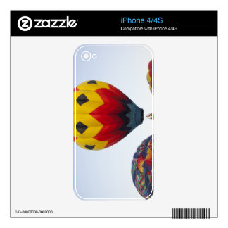 Launching hot air balloons decal for the iPhone 4S