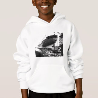 Launching of the Edmund Fitzgerald  6-8-1958 (#1) Hoodie