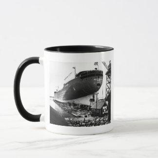 Launching of the Edmund Fitzgerald  6-8-1958 (#1) Mug