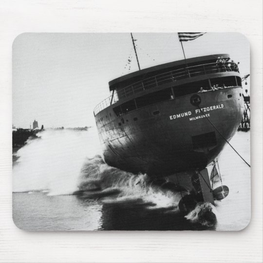 Launching of the Edmund Fitzgerald  6-8-1958 (#2) Mouse Pad