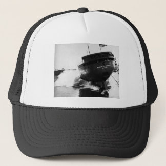 Launching of the Edmund Fitzgerald  6-8-1958 (#2) Trucker Hat