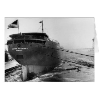 Launching of the Edmund Fitzgerald  6-8-1958 (#4) Greeting Card